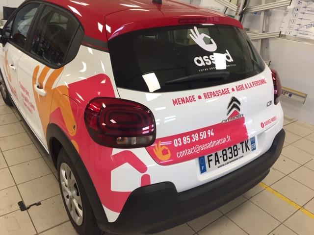 ASSAD Mâcon • Covering voiture utilitaire