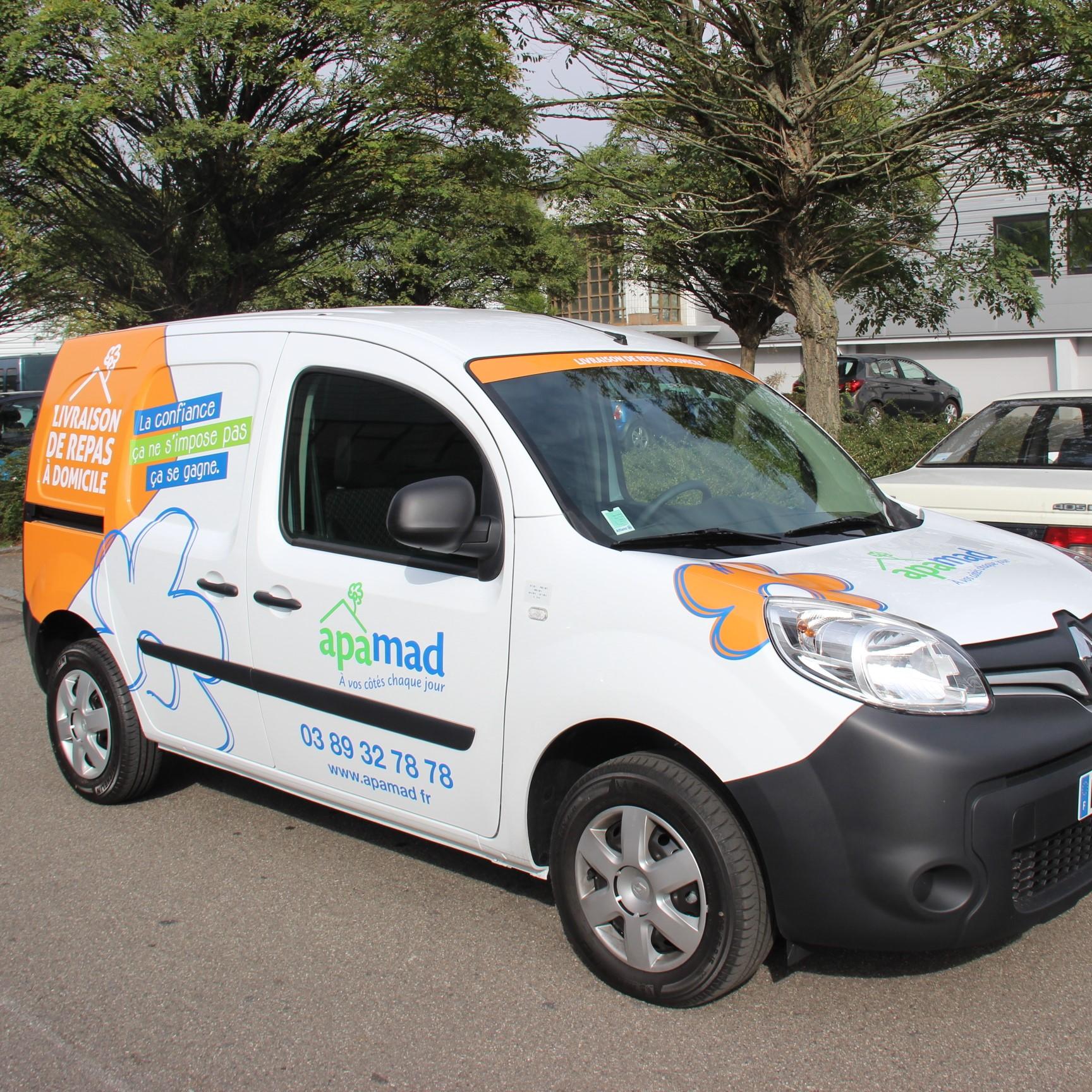 APAMAD • Covering vehicule utilitaire Livraison de repas