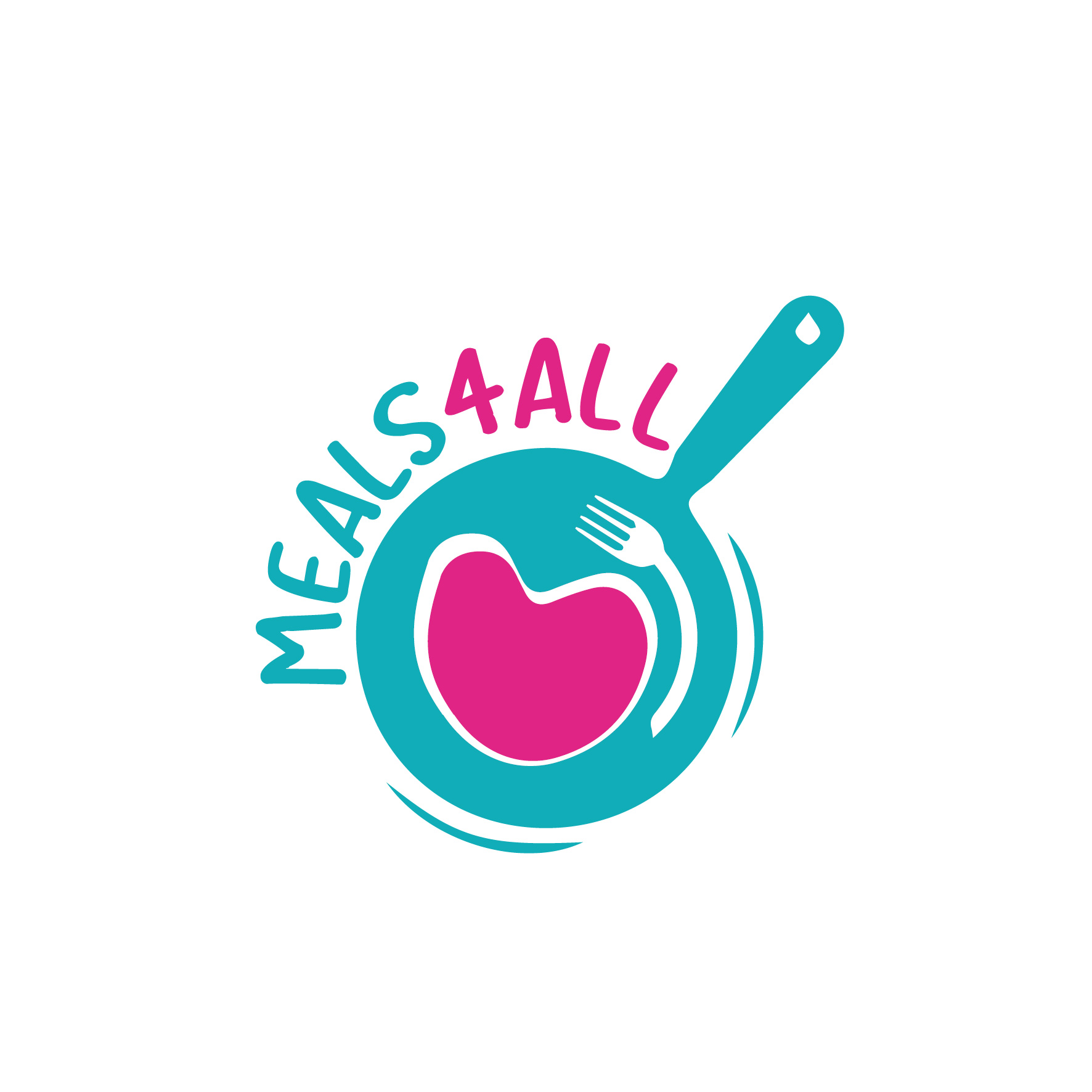 MEALS 4 ALL • Logotype