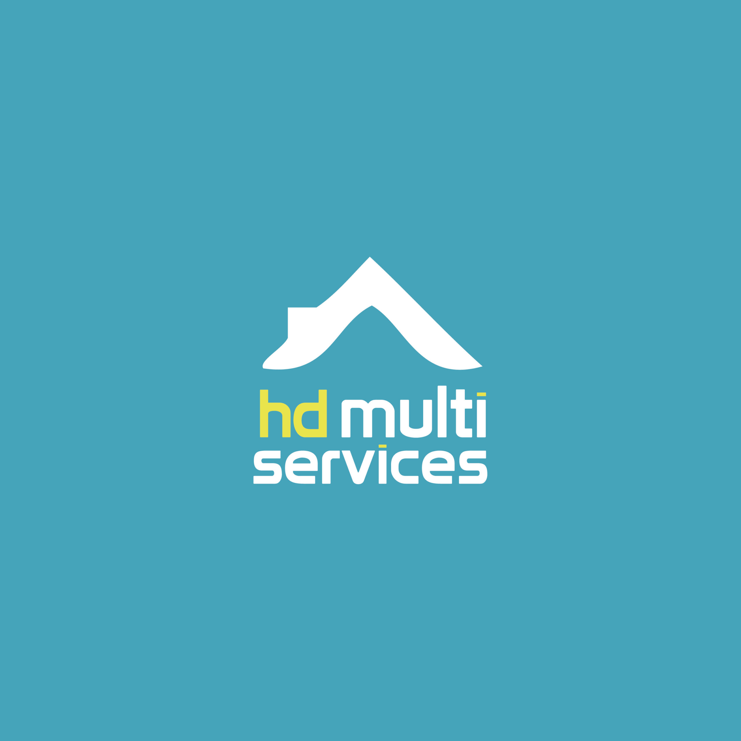 HD Multiservices • Logotype