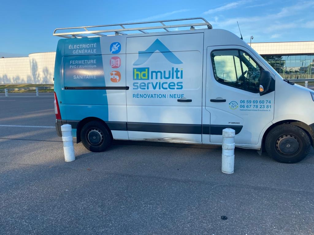 HD Multiservices • Covering véhicule utilitaire
